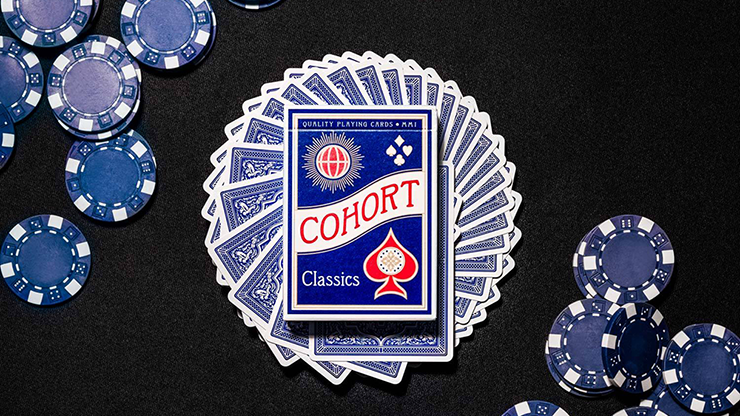 Blue Cohorts (Luxurypressed E7) Playing Cards