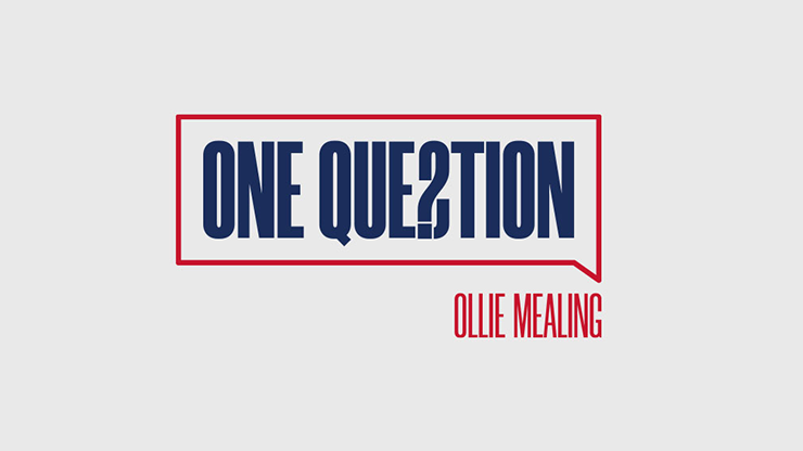 One Question (Gimmicks and Online Instructions) - Ollie Mealing