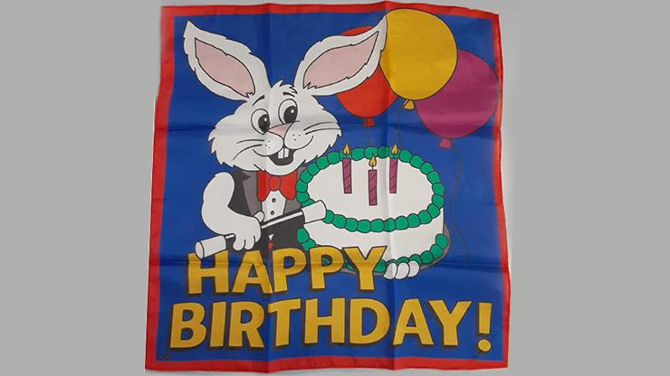 Happy Birthday Silk (36 in) by Ginn and Goshman