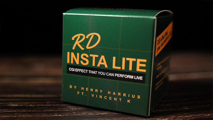 RD Insta Lite (Gimmick and Online Instructions) by Henry Harrius - Trick