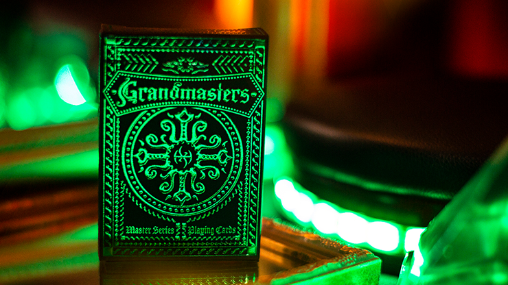 Emerald Princess Foiled Edition Playing Cards - Grandmasters