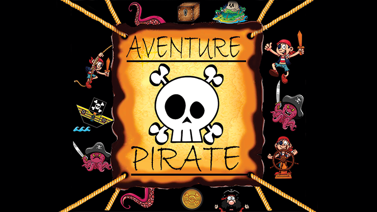 PIRATE ADVENTURE (Gimmicks and Online Instructions) - Mago Flash