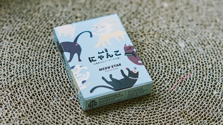 Meow Star Playing Cards - Bocopo