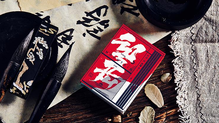 Mountain Wang Yue (Red) Playing Cards - Bocopo
