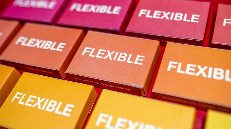 Flexible Gradients Orange Playing Cards - TCC