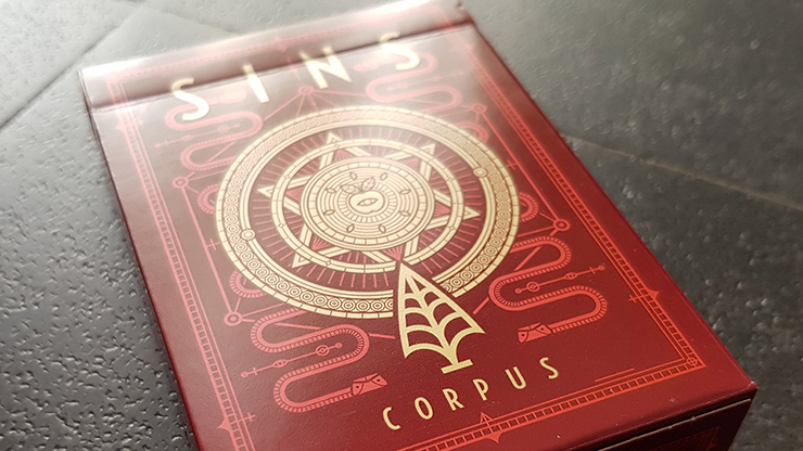 SINS 2  Corpus Playing Cards