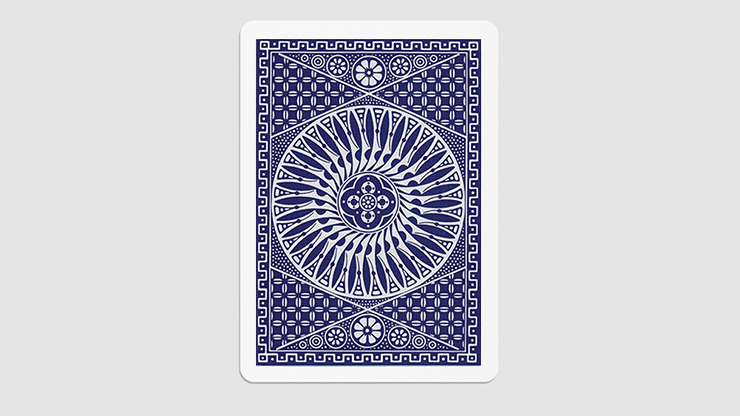 Tally Ho Circle Back Gaff Pack Blue (6 Cards)