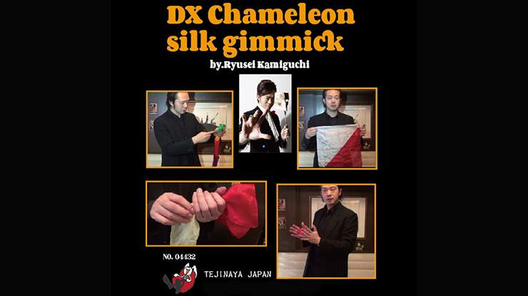 DX Chameleon Silk Gimmick - Ryusei Kamiguchi & Tejinaya Magic
