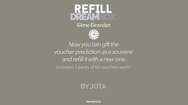 DREAM BOX TIME TRAVELER GIVEAWAY / REFILL - JOTA