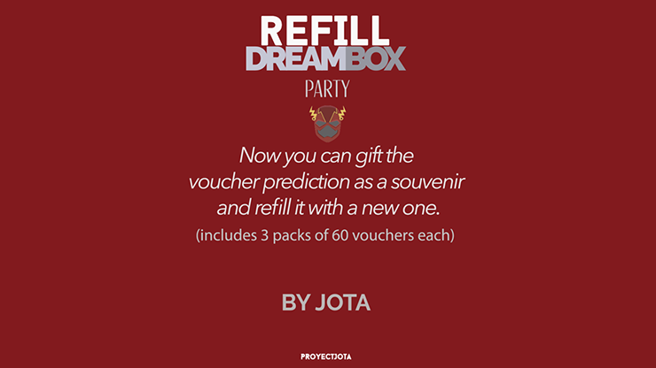 DREAM BOX PARTY GIVEAWAY / REFILL - JOTA