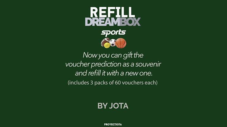 DREAM BOX SPORTS GIVEAWAY / REFILL - JOTA