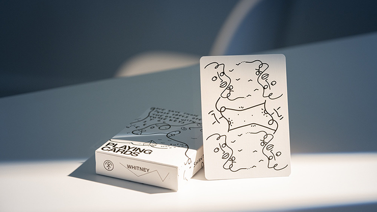 Shantell Martin (White) Playing Cards - theory11
