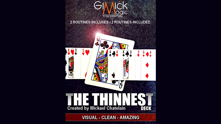 THE THINNEST DECK by Mickael Chatelain - Trick