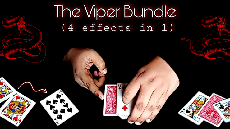 The Viper Bundle (4 effects in 1) - Viper Magic video DOWNLOAD