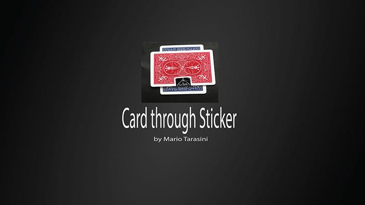 Card through Sticker - Mario Tarasini video DOWNLOAD