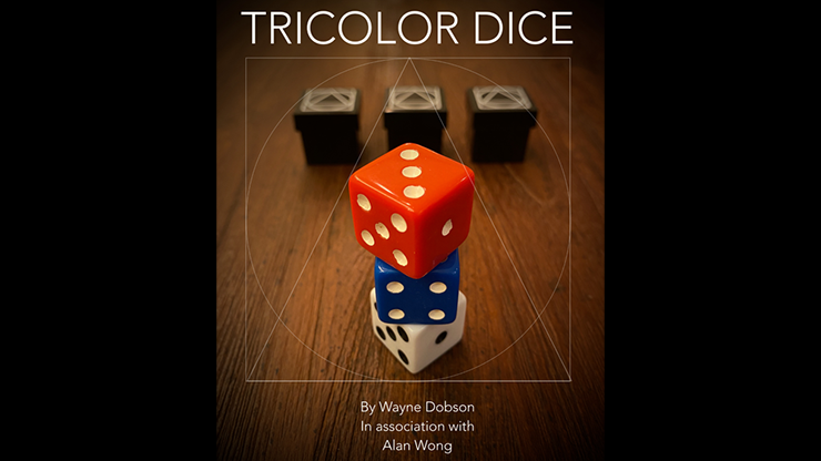 TRICOLOR DICE by Wayne Dobson and Alan Wong - Trick