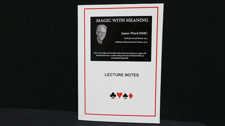 MAGIC WITH MEANING by James A Ward - Book