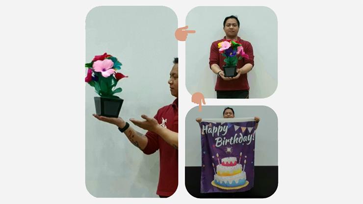 Flower Pot V2 to Blendo (HAPPY BIRTHDAY) - JL Magic