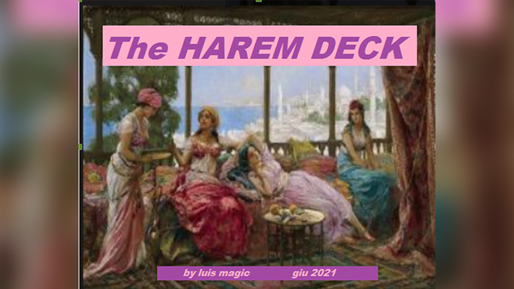 THE HAREM DECK by Luis Magic video DOWNLOAD
