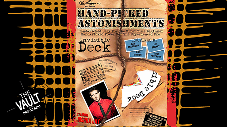 The Vault  Handpicked Astonishments (Invisible Deck) - Paul Harris and Joshua Jay video DOWNLOAD