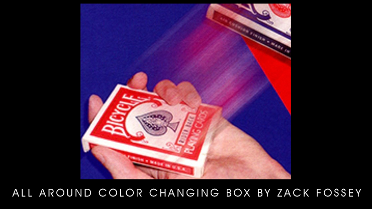 All Around Color Changing Box - Zack Fossey video DOWNLOAD