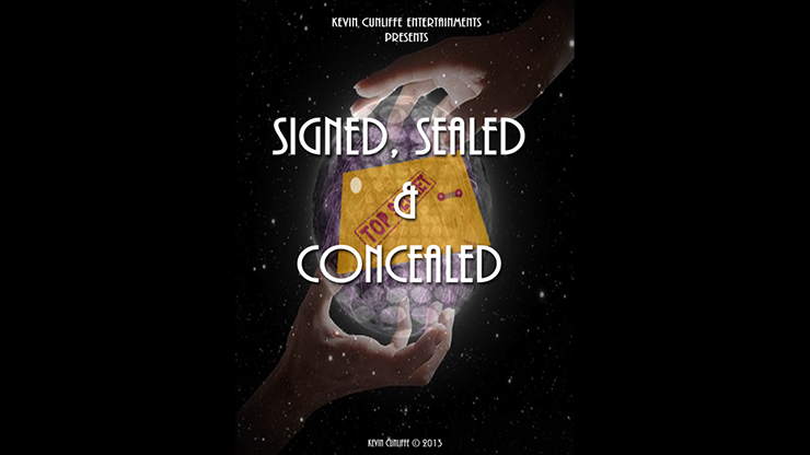 Signed -  Sealed & Concealed by Kevin Cunliffe mixed media DOWNLOAD