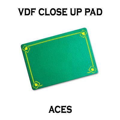Tapete para Trucos de Magia - con Aces (Verde) - Di Fatta Magic