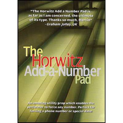 Add-A-Number-Pad by Basil Horwitz - Trick