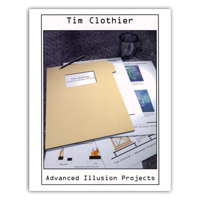 Projectos de Ilusiones Aanzadas - Tim Clothier - Libro de Magia