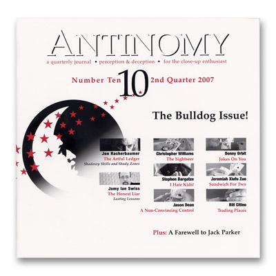 Antinomy Magazine # 10 - Revista de Magia