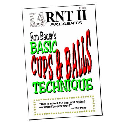 Trucos de Magia Basicos con Copa y Bola - Ron Bauer - Libro de Magia