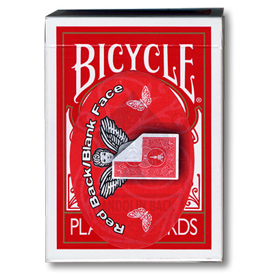 Cara Blanca - Cartas Bicycle - 809 Madolin (Rojo)