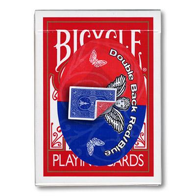 Cartas Doble Respaldo - 809 Mandolin (Azul - Rojo)