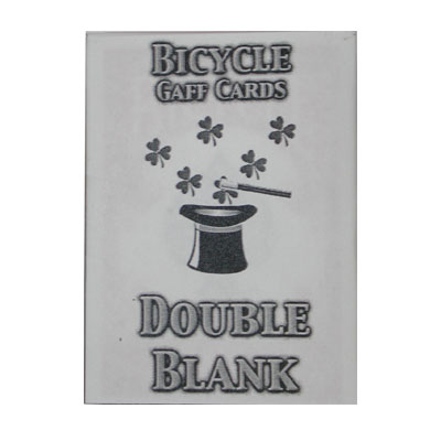 Cartas Blancas Bicycle