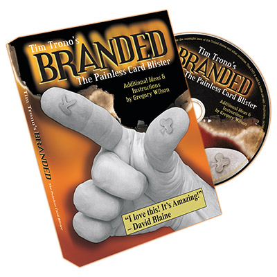 Branded (Mini & Regular Bic Gimmicks & DVD) - Tim Trono