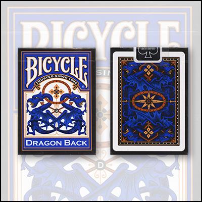 Cartas Bicycle - Dragon (Azul)