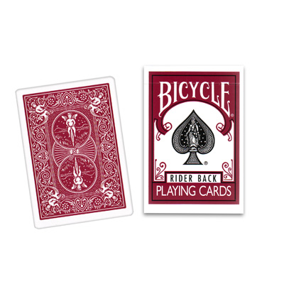 Cartas Bicycle Burgundy Back USPCC - Bicycle