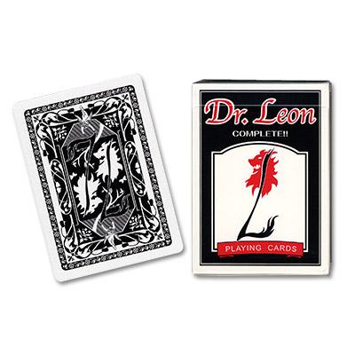 Cards Dr. Leon Deck (Negro) by Hiro Sakai
