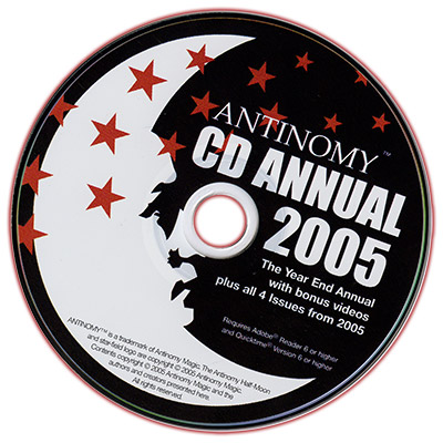 CD Antinomy Annual Year 1 (2005)