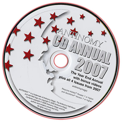 CD Antinomy Annual Year 3 (2007)