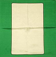 Seda - Cartas Blanca -  12 Pulgadas
