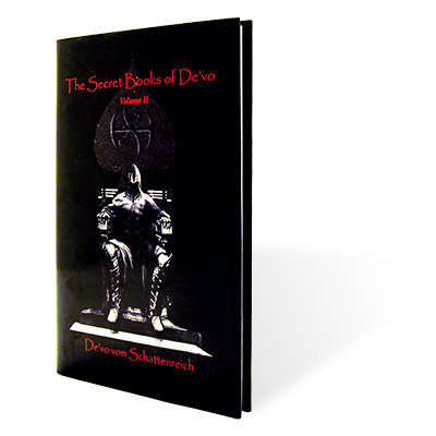 DE VOs SECRET BOOKS VOL. 2  - De vo vom Schattenreich - Libro