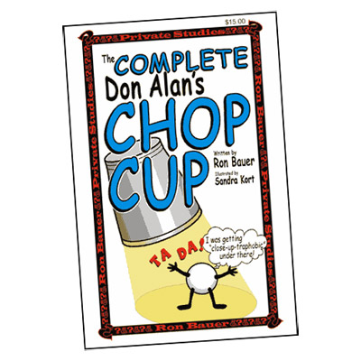 Complete Don Alan Chop Cup book - Ron Bauer