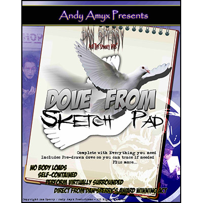 Libreta de Aparicion de Paloma (Con DVD) - Andy Amyx