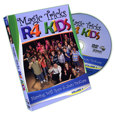 Magic Tricks R 4 Kids Vol.1 - Will Roya & Joan DuKore