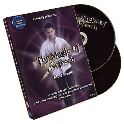 Trucos de Magia de Nefesch Vol. 3 (2 DVD) - Nefesch & Titanas