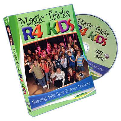 Magic Tricks R 4 Kids - Vol. 3 - Will Roya & Joan DuKore - DVD