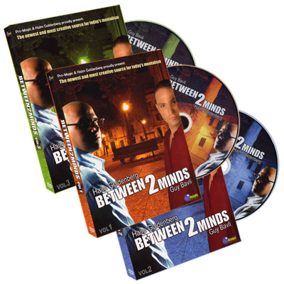 Between 2 Minds (3 DVD Set) by Guy Bavli and Haim Goldenberg - DVD