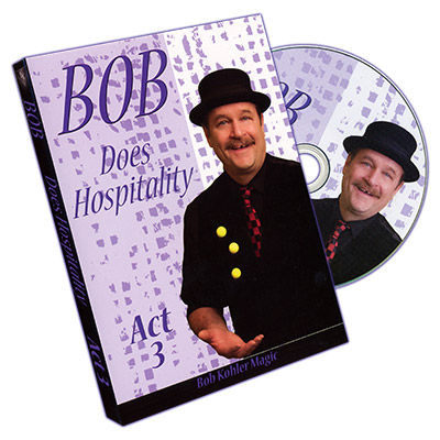 Bob Does Hospitality - Act 3 - Bob Sheets - DVD