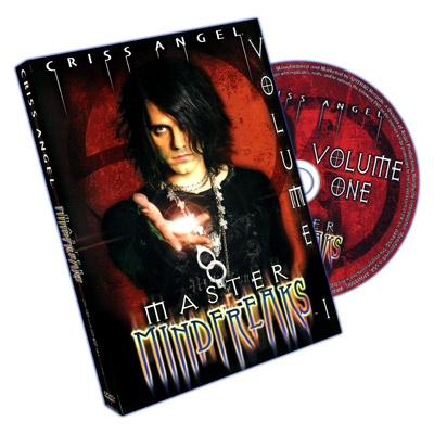 Master Mindfreaks - Criss Angel - Vol 1 - DVD